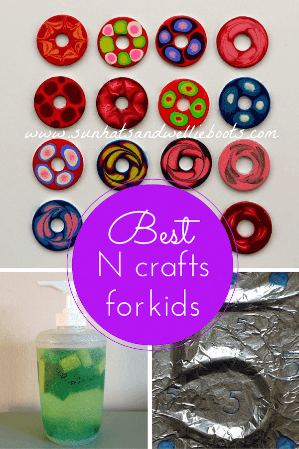 Best N crafts for kids 600