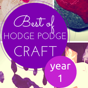 Happy birthday to Hodge Podge Craft!