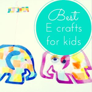 Best E craft ideas for kids