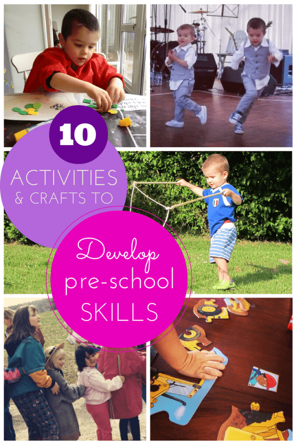 Easy crafts to prepare kids for pre-school