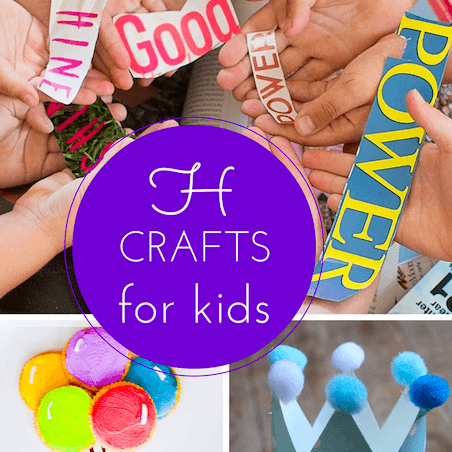 H craft ideas for kids thumbnail
