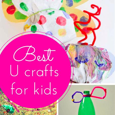 U craft ideas for kids thumbnail