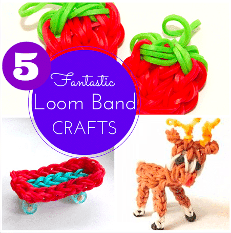 5 Fantastic Loom Band Crafts that aren't bracelets!