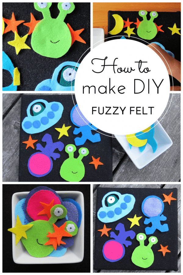How to make DIY fuzzy felt