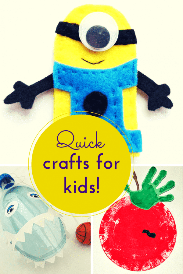 Quick craft ideas for kids