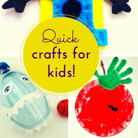 Quick craft ideas for kids thumbnail