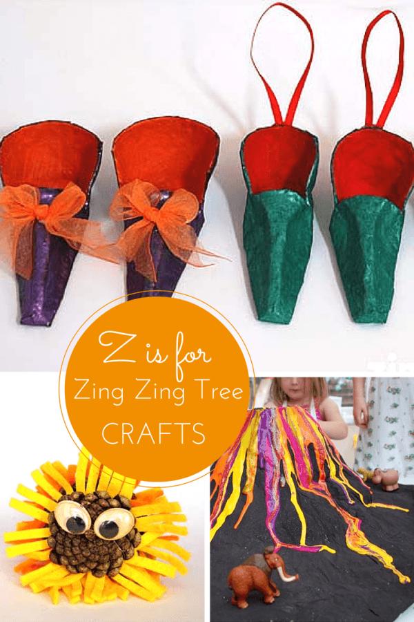 Z craft ideas for kids