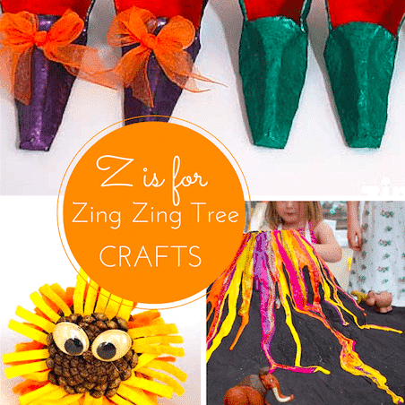 Z craft ideas for kids (a Zing Zing Tree special)