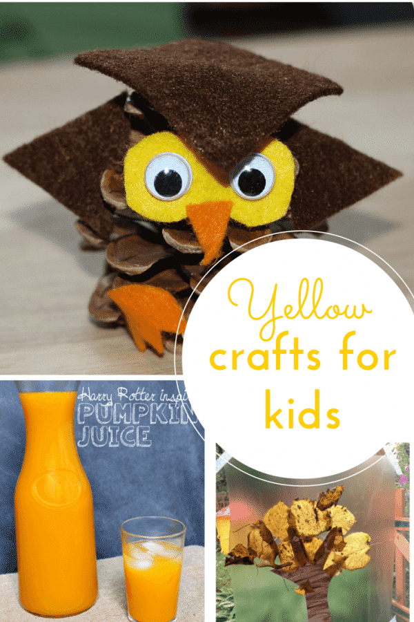 yellow craft ideas