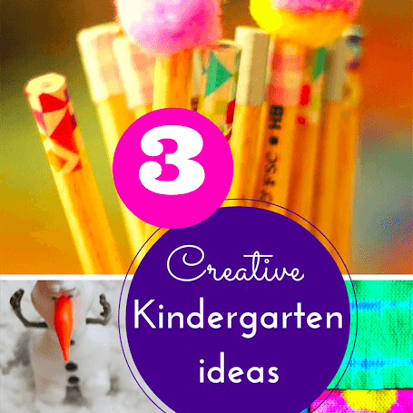 Creative Kindergarten ideas
