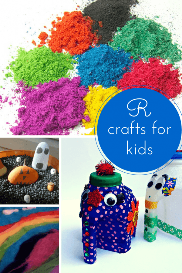 R crafts for kids
