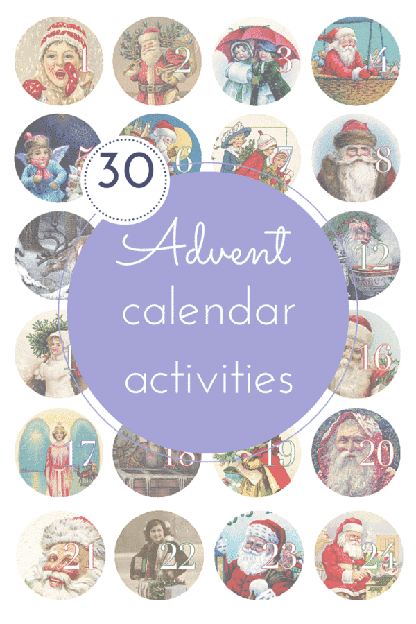 30 advent calendar activities