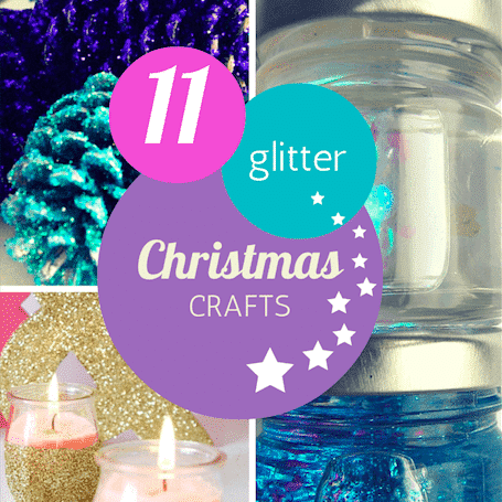 Christmas gliter crafts for kids thumbnail