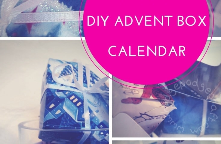 DIY alternative advent calendar