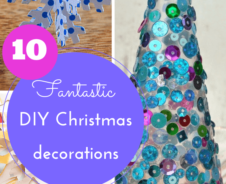 10 DIY Christmas decorations for kids