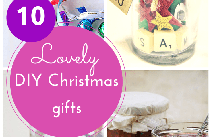 10 lovely DIY Christmas gifts