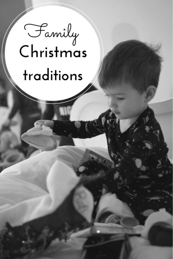 Family Christmas Traditions PIN