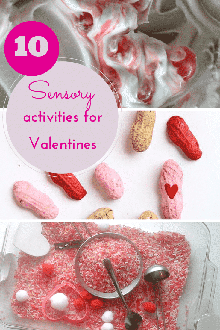 10 super sensory activities for Valentines day