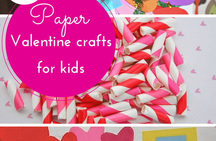 paper valentine crafts for kids