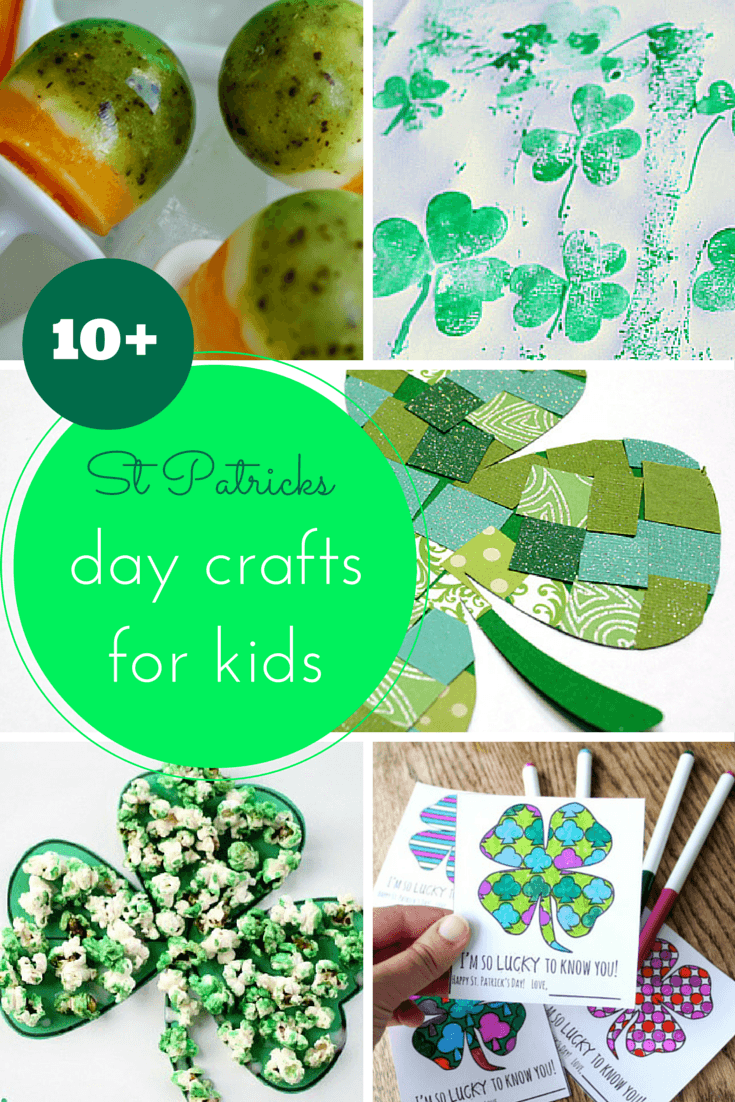 10+ St Patricks day crafts for kids