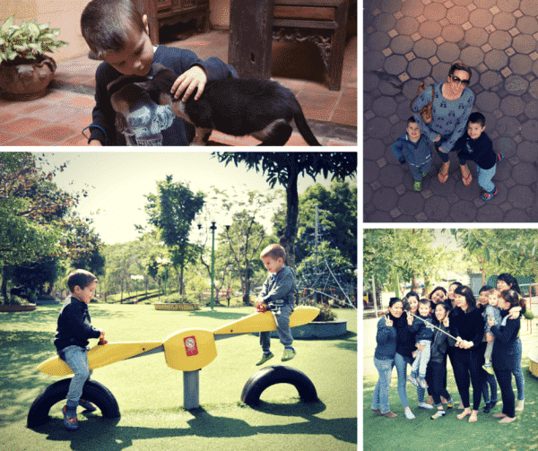 Thailand and Vietnam with preschoolers Hanoi
