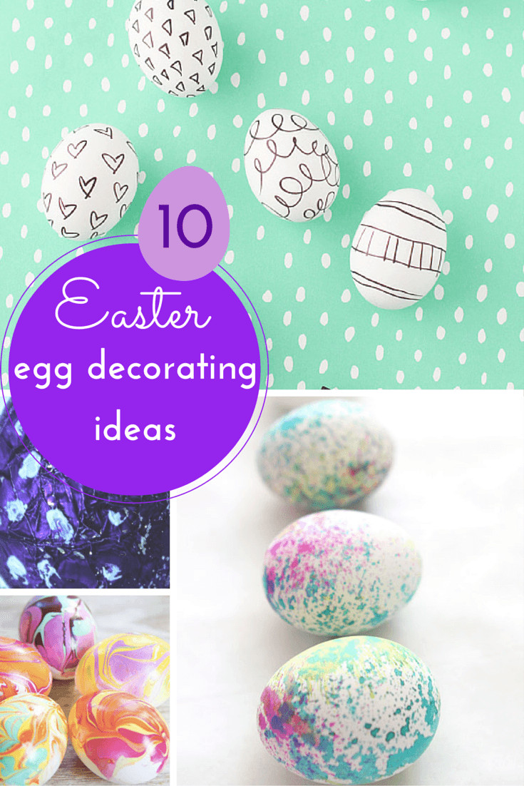 10 gorgeous easter egg decorating ideas for Easter egg ideas