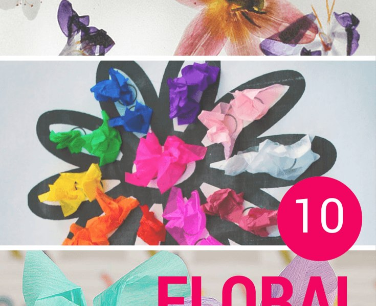 FLORAL craft ideas