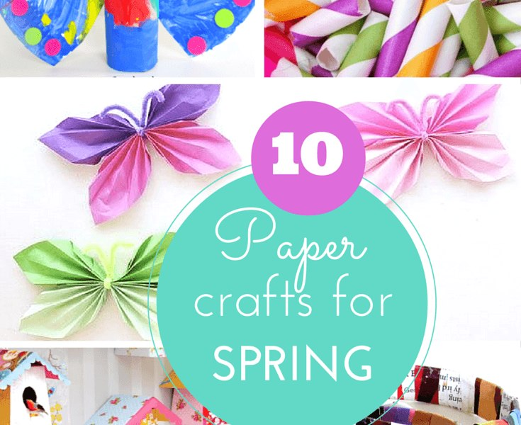 Paper crafts for Spring