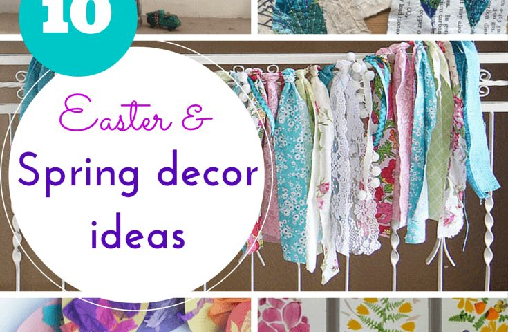 Spring & Easter ideas for DIY decorations
