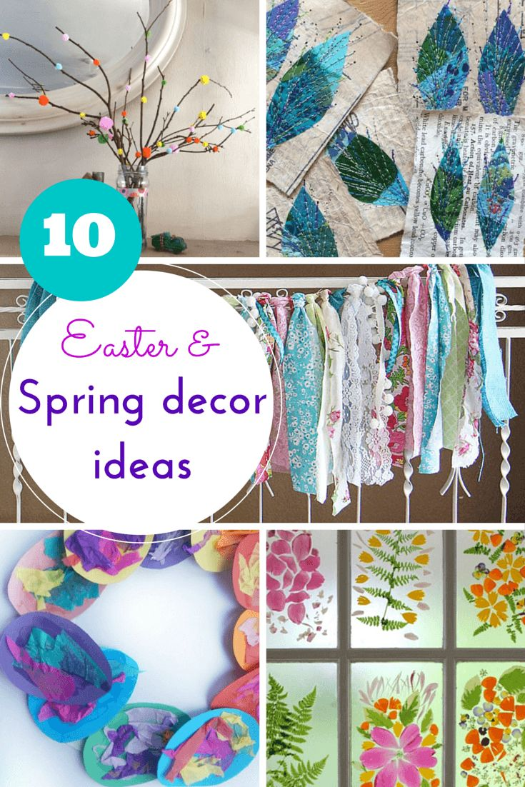 Spring Amp Easter Ideas For Diy Decorations
