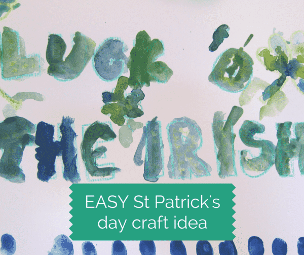 easy st patricks day craft