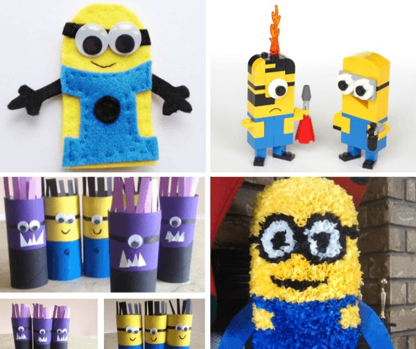 DIY minion party ideas for activities
