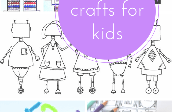 10 Of The Best Robot Crafts For Kids