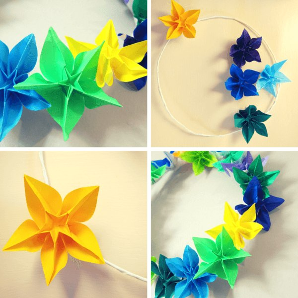 How to Make Beautiful Origami Kusudama Flowers | 600x600