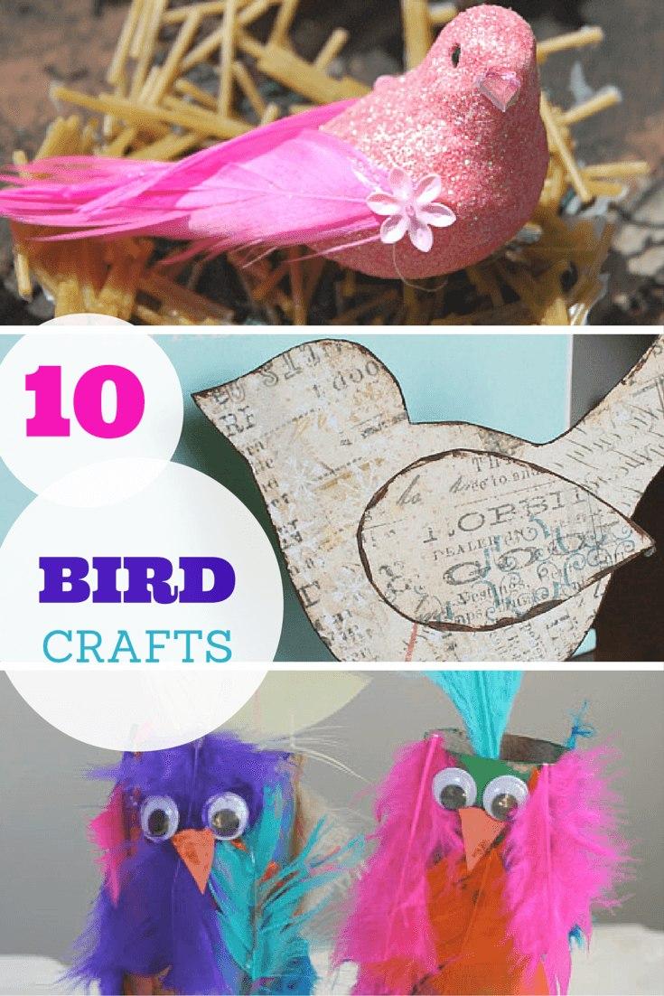 10 brilliant bird crafts
