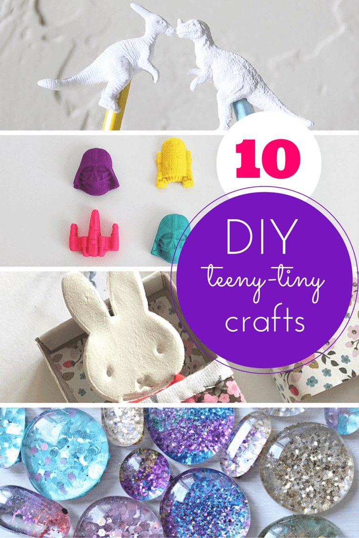 easy fun craft ideas for adults 10 teeny tiny totally cool crafts 7700