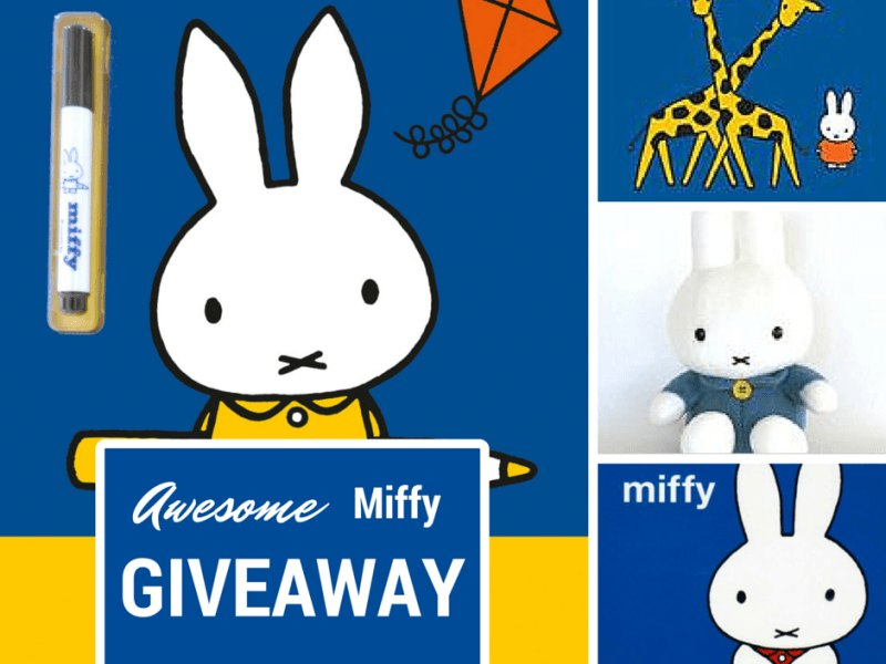 Awesome Miffy giveaway