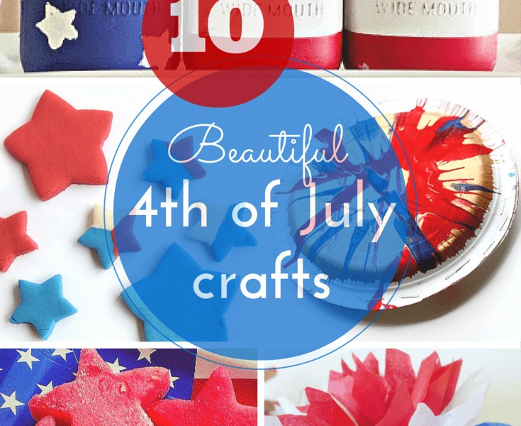 10 gorgeous 4th of July crafts