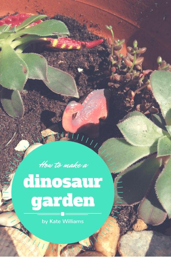How to make a dinosaur garden PIN