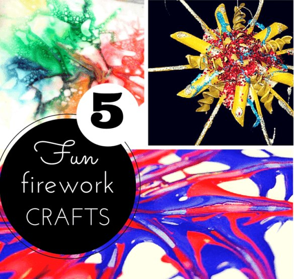 Firework crafts for kids