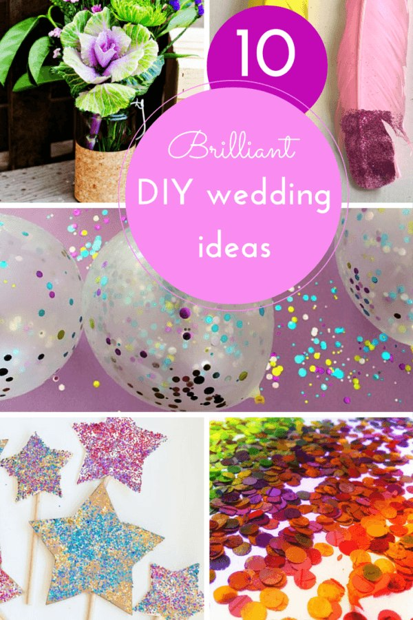 10 DIY-wedding ideas