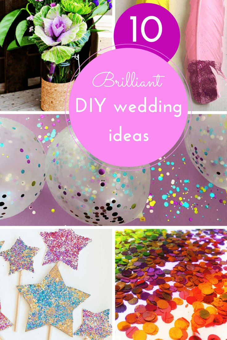 10 more DIY wedding ideas