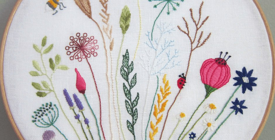 9e9b3f28c7ca Free floral meadow embroidery pattern