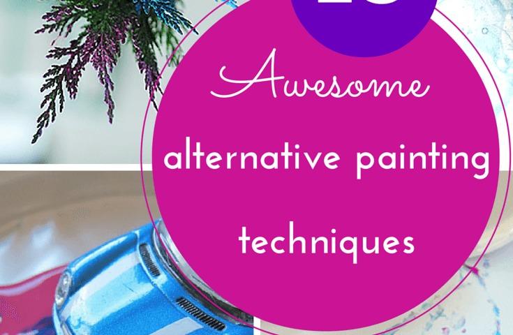 Alternative Painting Techniques