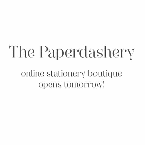The Paperdashery open