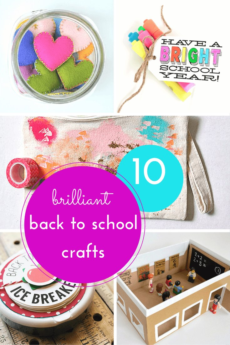 10 of the best back to school crafts & activities