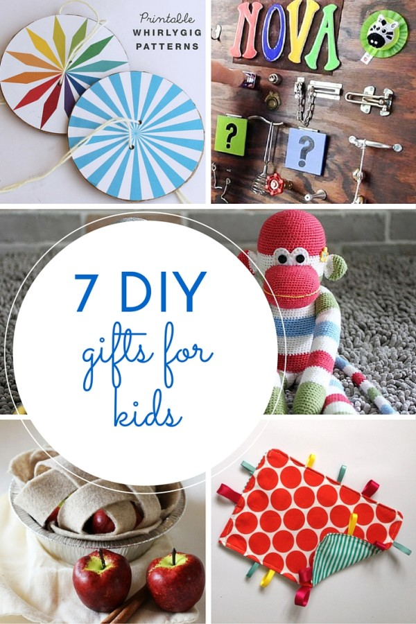 7 DIY gifts for kids