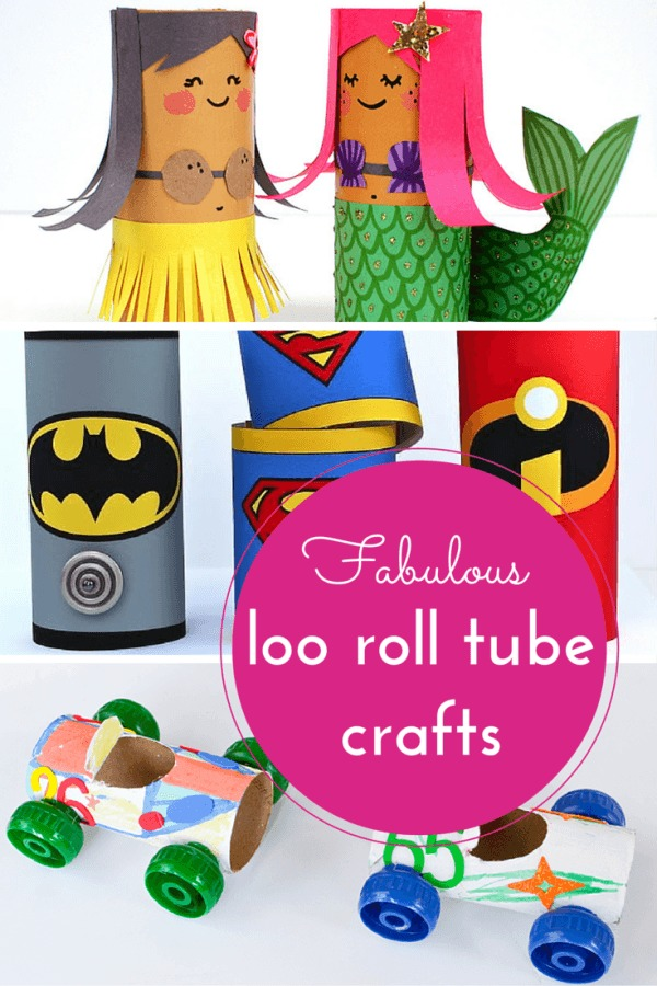 things to make using loo roll tubes