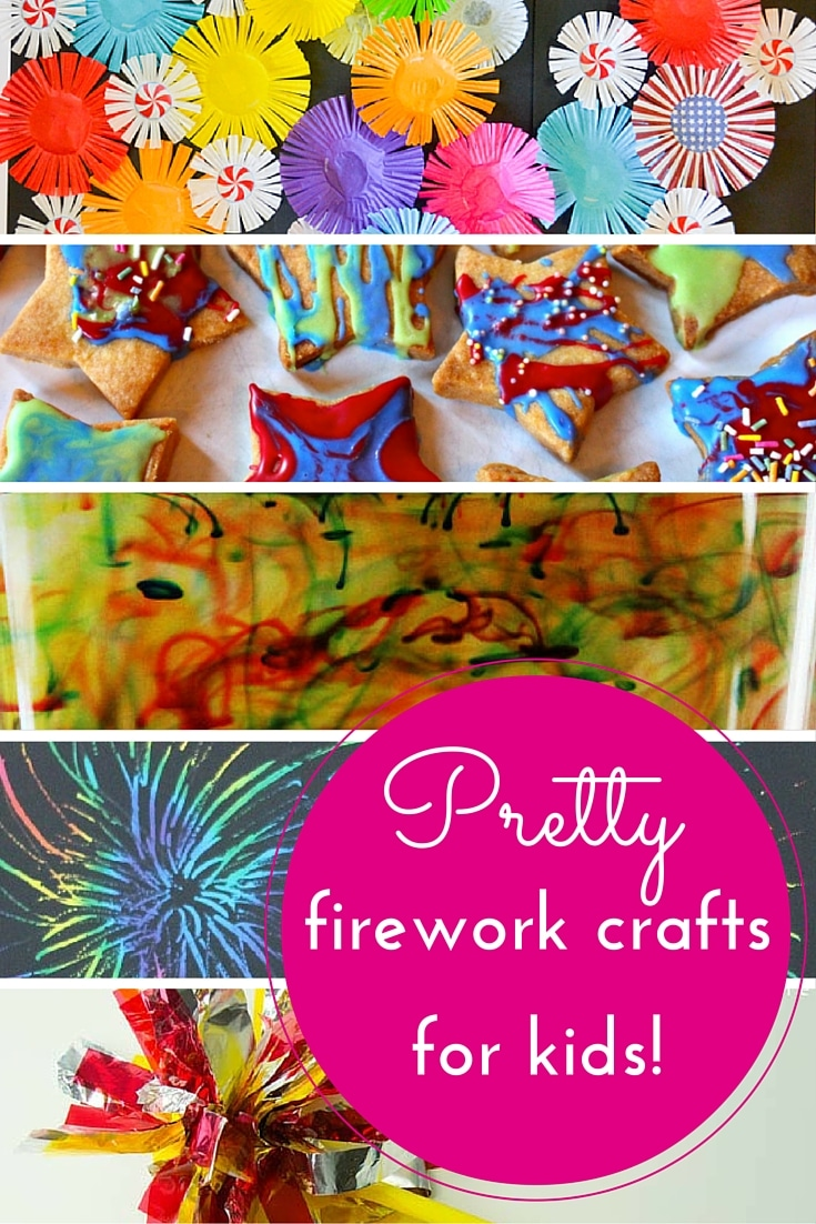 More firework crafts for kids!