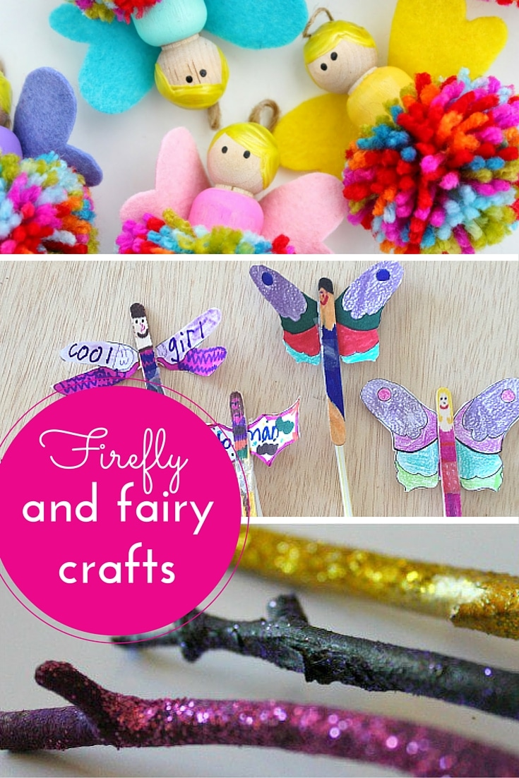 Firefly & fairy craft ideas